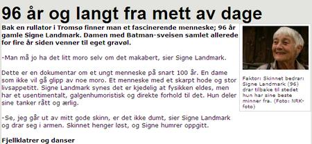 Omtale NRK
