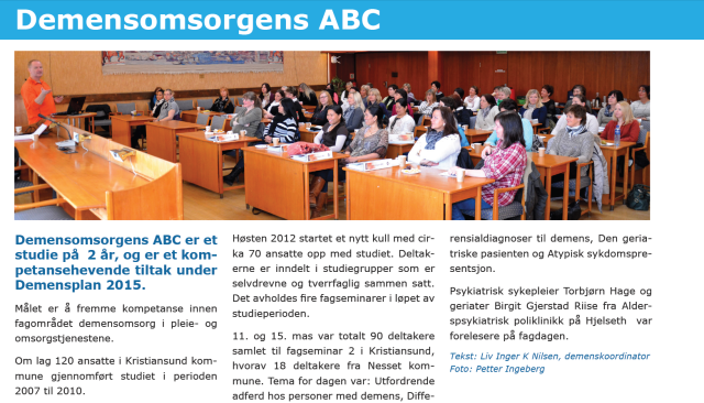 Demensomsorgens ABC
