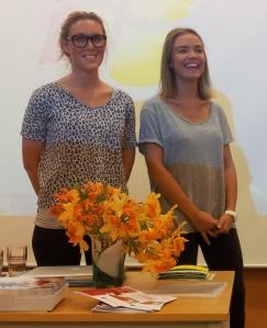 Lill Karin Bugge og Thea Beate Brevik