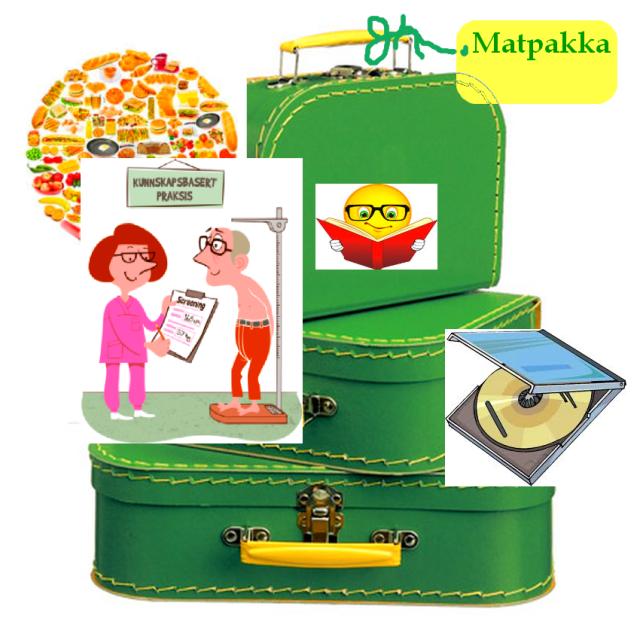 Matpakka illustrasjonsbilde
