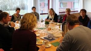 Bildet: Sula, Stordal, Ørskog, Sykkylven, Norddal, Giske og Ålesund var representert på møtet.
