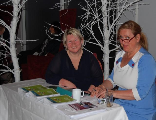 Trude Fløistad Eines og Inger-Lise Lervik