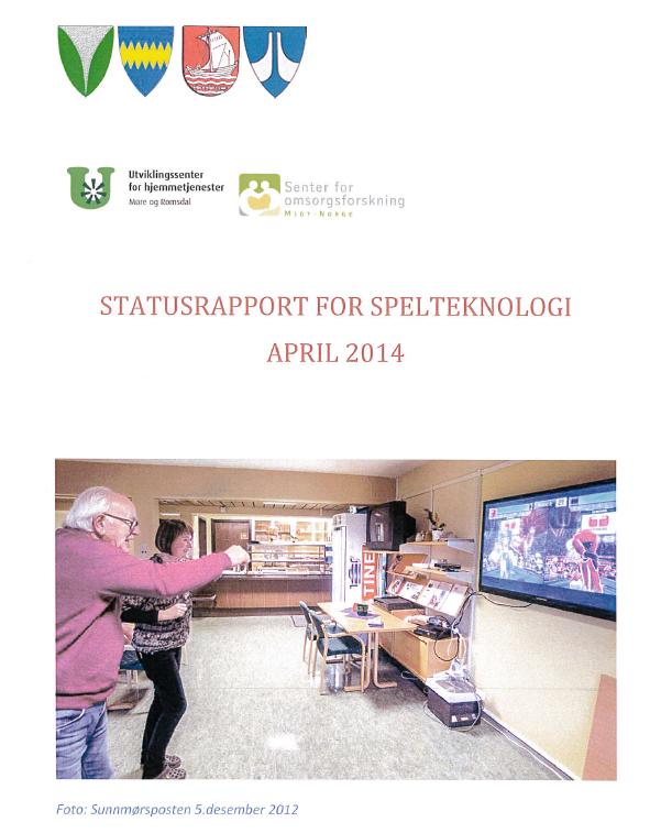 Forside rapport spillteknologi