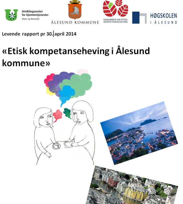 Forside levende rapport Ålesund