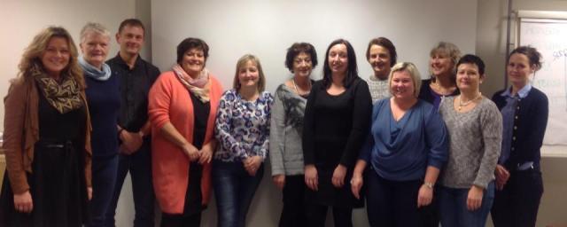 Deltakerne på møtet 10.desember 2014.