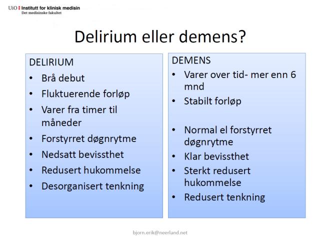 Delirium  Neerland - skjermdump