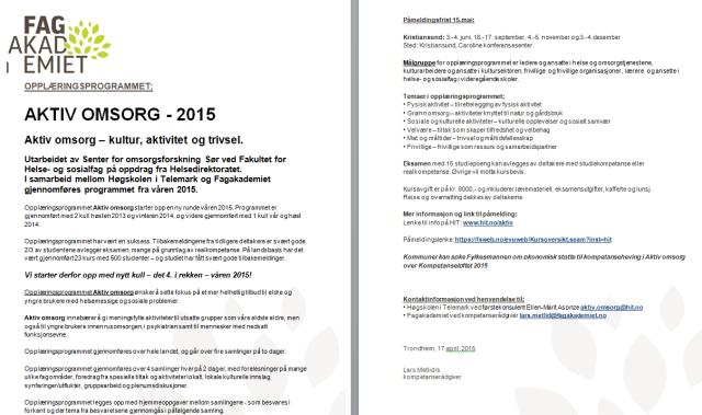 Aktiv omsorg Kristiansund