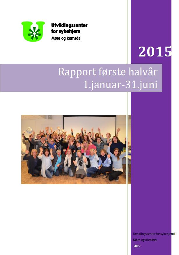 Forsiden halvårsrapport første halvår 2015