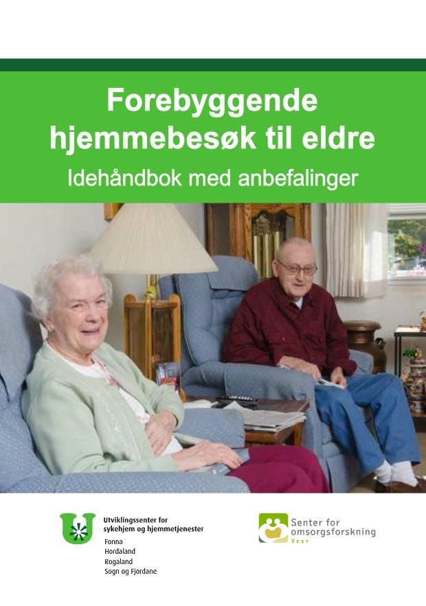 Idehåndbok forebyggende hjemmebesøk forside