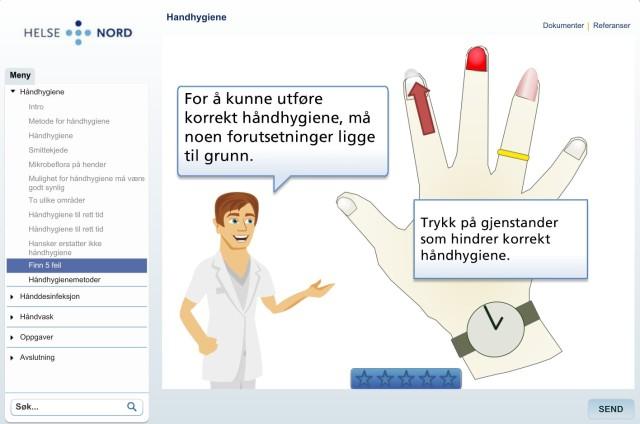 E-læring håndhygiene