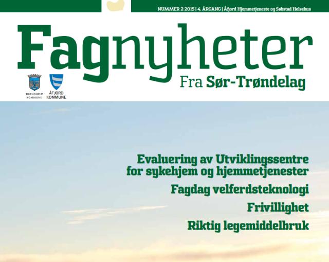 Fagnyheter fra Sør-Trøndelag