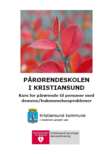 Pårørendeskolen Kristiansund 2016
