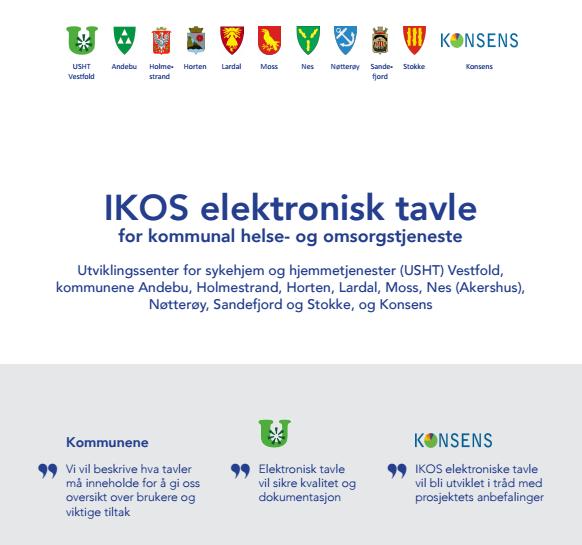IKOS elektronisk tavle