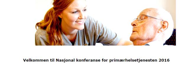 Nasjonal konferanse primærhelsetjenesten illustrasjonsfoto